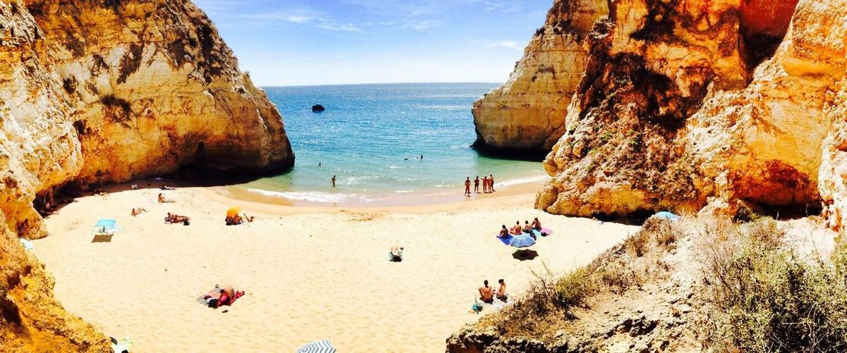 Holiday Beach Beach #sun #nature #water #TagsForLikes.com #TagsForLikesApp #TFLers #ocean #lake #instagood #photooftheday #beautiful #sky #clouds #cloudporn #fun #pretty #sand #reflection #amazing #beauty #beautiful #shore #waterfoam #seashore #waves #wave Rock Ocean Lusofonia Algarve Ocean View Atlantic Ocean