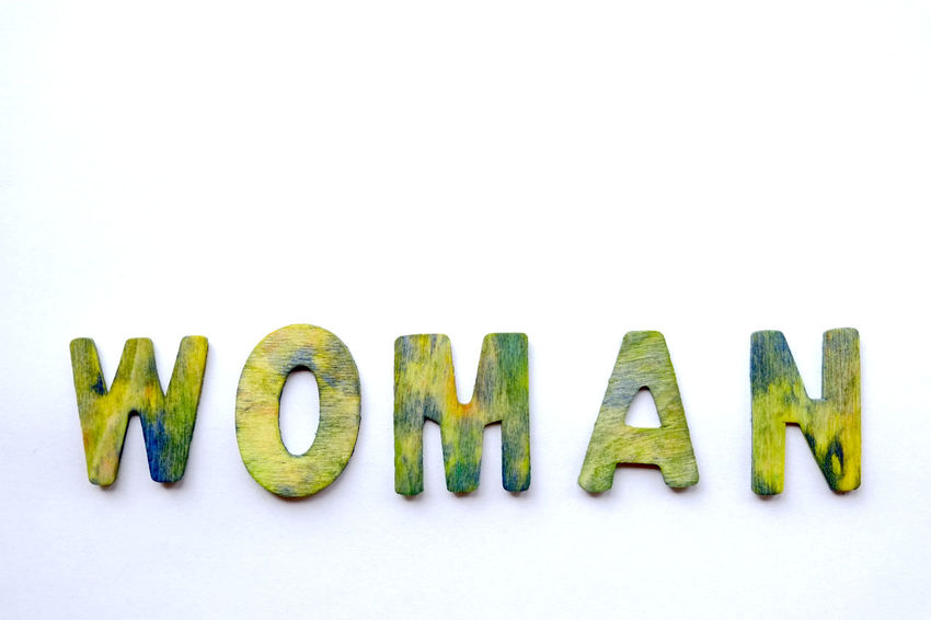 Alphabet Background Cardboard Close-up Communication Comunication Conceptual Photography  Copy Space Green Color In A Row Letters March March 8th!!!!!. Message Studio Shot Text White White Background White Color Woman Wood Wood - Material Wooden Wooden Letters Wooden Post