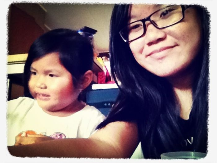 Late upload. Me and my niece Summer <3