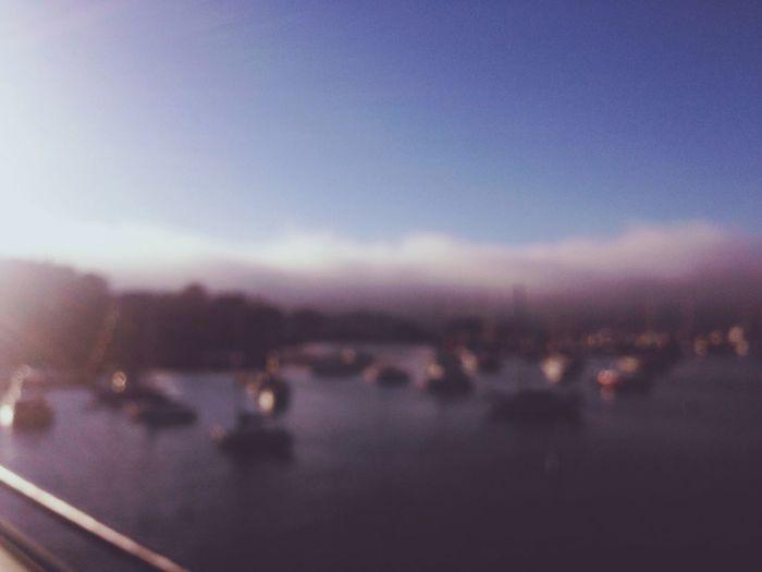 Blurred Boats.
