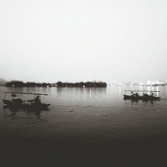 Monochrome Black & White Cityscapes Hangzhou,China XiHu