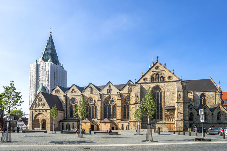 Paderborn, Germany Architecture Castle Cathedral City Market Paderborn Sunlight Building Exterior Citysscape Daylight Gaukirche Germany Historic No People Palace