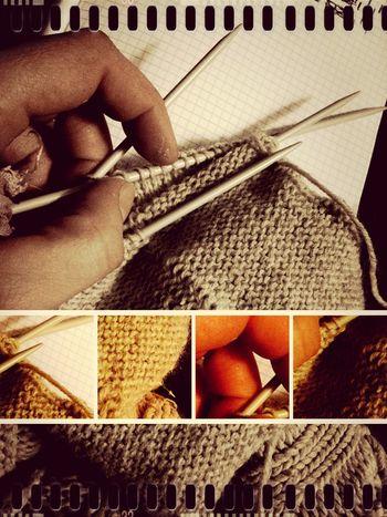 Relaxing Knitting Hello World Knitter