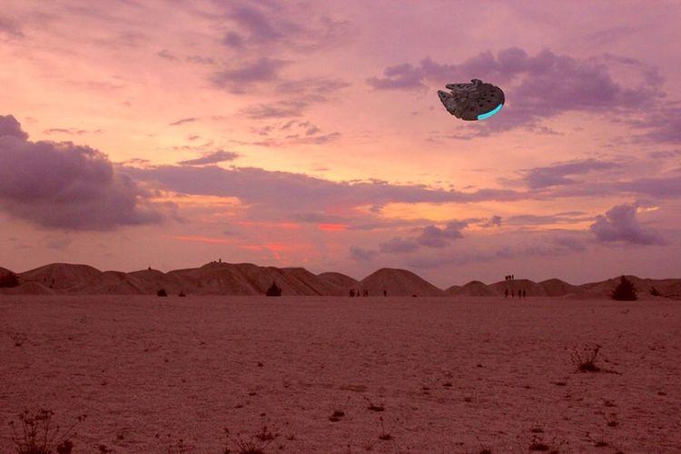 Dune at pantai Klebang. Millenium Falcon Pantaiklebangmelaka Sand Dune