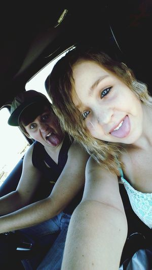Blue Eyes <3 My Brother & I On The Road