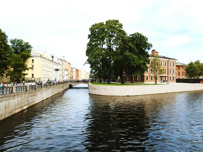 Architecture Canal River City Life New Holland Island Urban Geometry Color Of Life! Saint Petersburg Russia