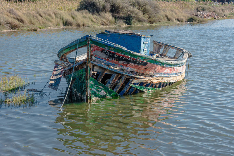 Carrasqueira, Alcácer do Sal, Portugal Portugal Abandoned Abandono Alcacer Do Sal Barco Bateau Boat Carrasqueira Damaged Day Moored Nature Nautical Vessel No People Outdoors River Ruina Sado Water