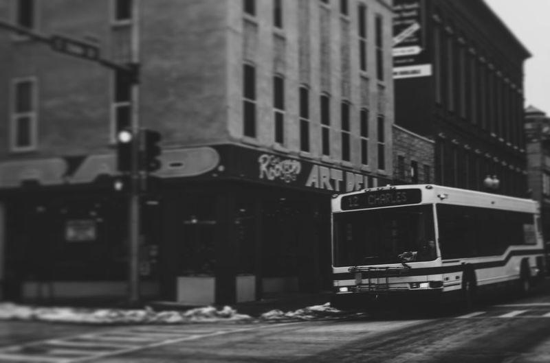 Mass transit EyeEm EyeEmBestPics Eye4photography  EyeEm Best Shots Vscocam Urban City Bus Art Nikon 35mm Tiltshift Streetphotography The Shop Around The Corner Neighborhood Map Rockford Il