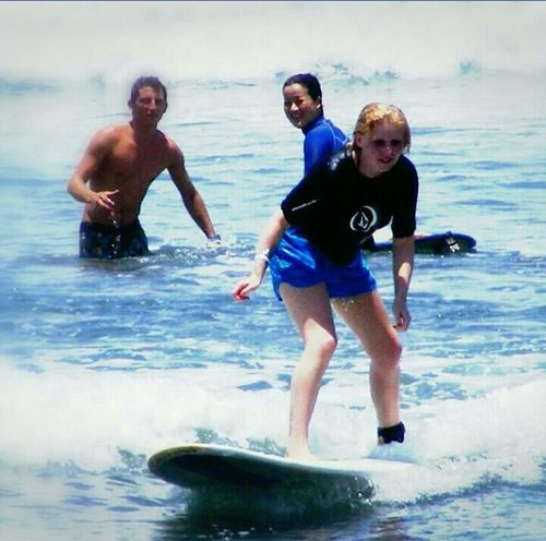 Surfboards Surf Surfing That's Me Beach Costarica Holiday♡ Travel Blonde Girl Blonde