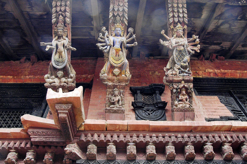 Architectural Column Architectural Feature Architecture Art Buddism Built Structure Culture Cultures Nepal No People Oriental Ornate Religion Spirituality Tantric Temple - Building Tourism Travel Destinations Traveling