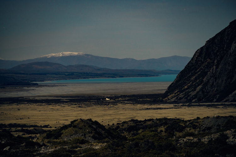Mt. Cook Vallay at Night Beauty In Nature Day Lake Pukaki Landscape Loneliness Mountain Night Nightphotography No People Outdoors Scenics Snow Stars Valley