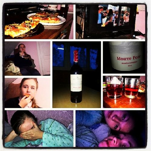 Student's day+pajama party+fun+sister+alcohol+pizza=yesterday)