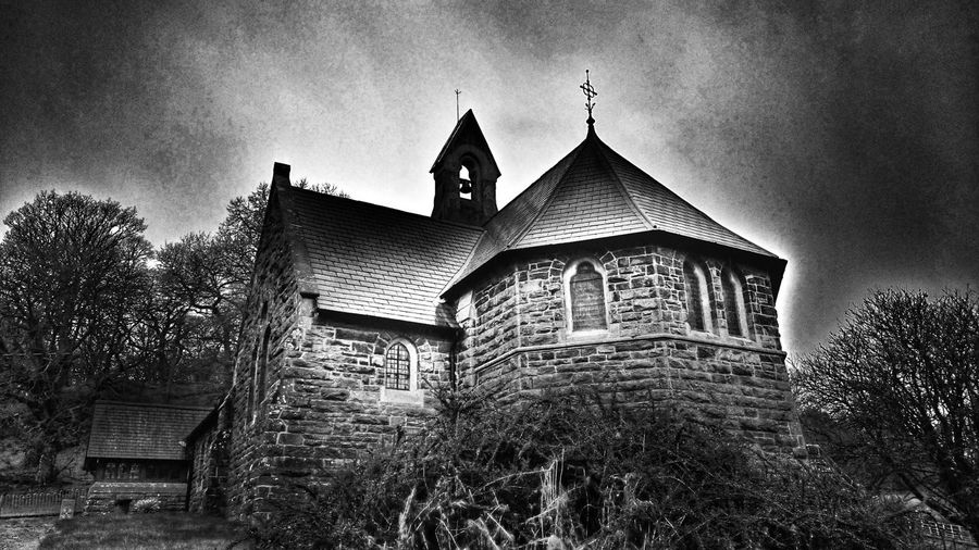 Churches Churches Of Wales Churches Collection Churchporn Dark Photography Dark Edit Fear Of The Dark Religious Architecture Religion Small Church Small Churches Old But Awesome