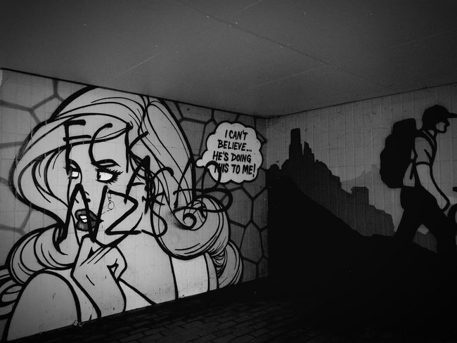 .FCK NZS | ACAB Undergroundphotography Taking Photos Trainsstation Blackandwhite Photography Darklights Canonphotography HuaweiP9 Tunnel Underground Station  Graffiti Art Graffiti Wall