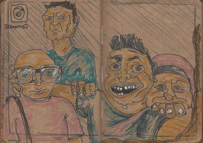 Illustration Sketch Sketchbook Drawing ✏ Cartoon Art