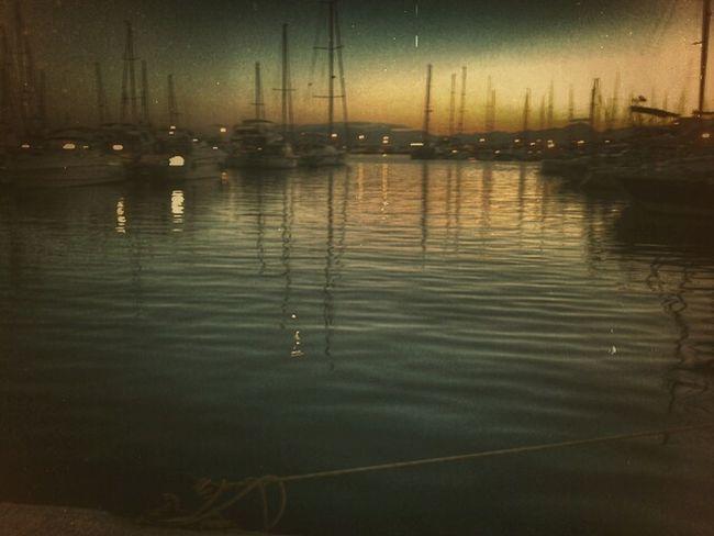 Tarragona Cambrils Water Reflections