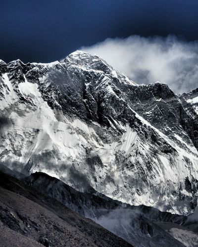 Mount Everest Mounteverest Nepal Everest Base Camp Trek