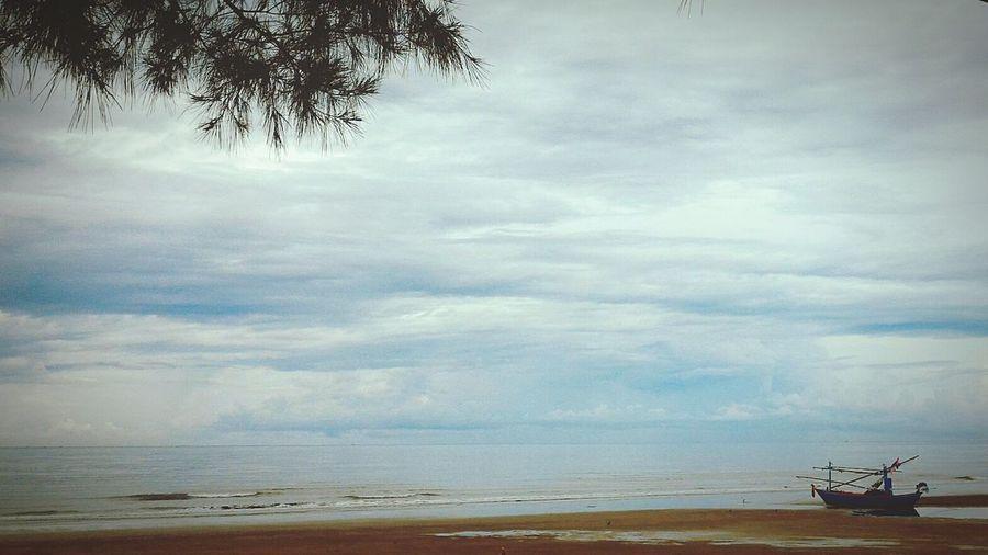 Sea Beach Cloud - Sky Sky Horizon Over Water