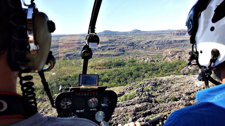 Kakadu Australia, helicopter view Adventure Day Helicopter Helicopter Pilot Helicopter View  Landscape Nature On The Way Outdoors Personal Perspective Scenics Unrecognizable Person