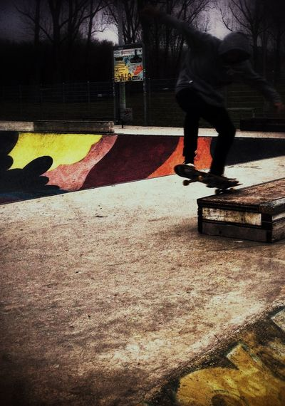 Skate bowl - Lausanne. TheWorldNeedsMoreYellow Marching To My Own Tune Skateboarding Style