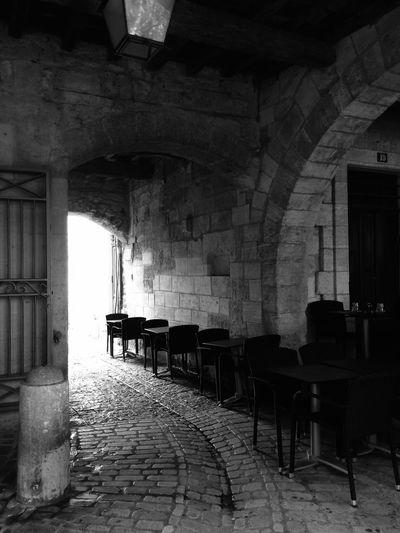 Architecture Church Cypress Blackandwhite Tourism Uzés