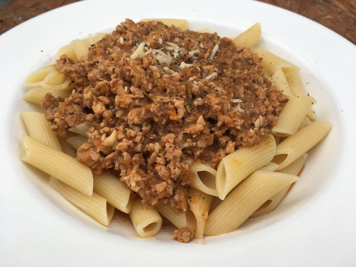 Pasta Italian Food Food Food And Drink Freshness Penne Spaghetti Healthy Eating Ready-to-eat No People Close-up Serving Size Homemade Indoors  Plate Bologna Pennepasta Bolognese