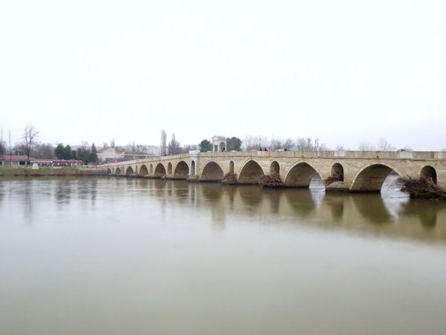 Bridge Meriç Köprüsü Meriç Meriç River