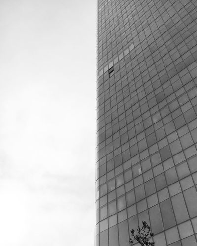 Lyon Building Façade Exterior Streetphotography Minimalism Minimalist Minimal Perspective Low Angle View Lines Geometry Architecture Architectural Detail Bnw Bnw_collection Blackandwhite EyeEm Best Shots - Black + White Blackandwhite Photography Mmaff From My Point Of View Eye4photography  EyeEm Gallery Taking Photos Hello World