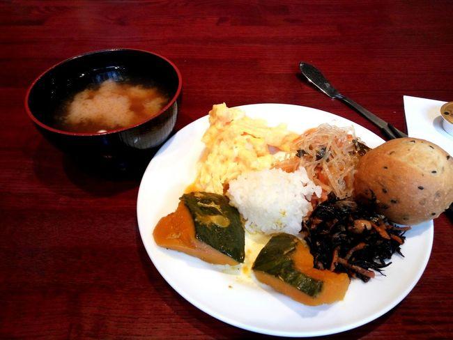 Pumkin Pumkin Season Japanese Omelette Japanese Serving Size Miso Soup Tokyo Breakfast Japanese Breakfast Japan EyeEm Selects Food And Drink Serving Size