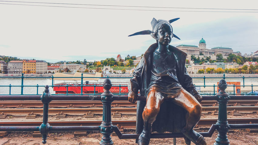 Autumn Budapest City Hungary Statue Art Budapest In Autumn Budapest Statues Day Monument Sculpture Statues And Monuments Statues In Budapest Streetphotography