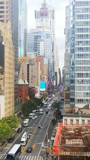 Birds View Nycstreets FortyDuce 42ndSt ViewThruMyLens M.B.T.S
