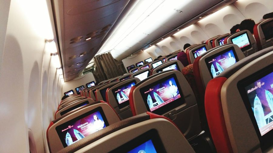 Malindo Air Economy Class Flight ✈ Transportation Traveling Holidays Domestic Flight First Eyeem Photo