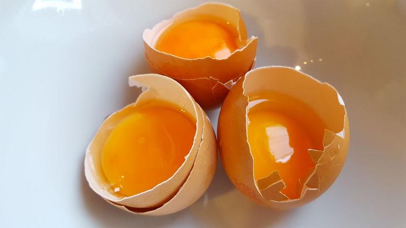 Broken eggs Eggs Egg Yolk Ingredient Healthy Eating Healthy Food Diet Dietfood Broken Eggs Broken Egg Egg Shells Food Raw Raw Eggs Raw Food EyeEm Food Lovers Eyeem Hungary Eye4photography  A Bird's Eye View 3 Three 3 Eggs