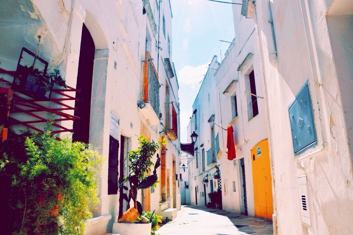Architecture Borghipiúbelliditalia Building Exterior Built Structure Colorful Day House Italy Locorotondo No People Outdoors Puglia Residential Building