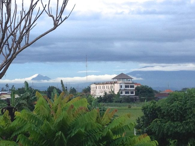 Bali Clouds Nature Sky Volcano