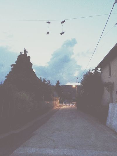 Street Shoes Basket Night Clouds #holidays #summer