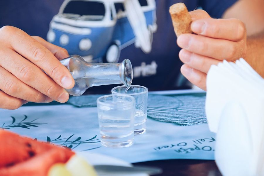 Pouring raki in small glasses Shot Glass Close Up Turist On The Table Close-up Full Frame RAKI Traditional Greece Greek Drink Pouring Pouring Drinks Drinking Glass Hand Human Hand One Person Human Body Part Holding Adult Drink Household Equipment Glass Food And Drink Refreshment Body Part Finger Table Drinking Glass Human Finger Men