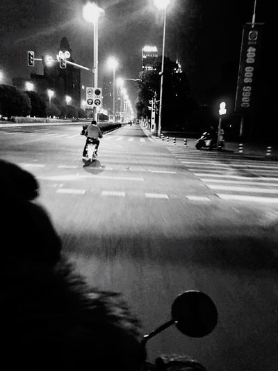 La Poursuite Transportation Illuminated Car Street Road Land Vehicle Mode Of Transport Motion Street Light Shadow City On The Move Night Speed Blurred Motion City Life Full Length City Street Outdoors Vehicle Blackandwhite Scooter Fast Light And Shadow