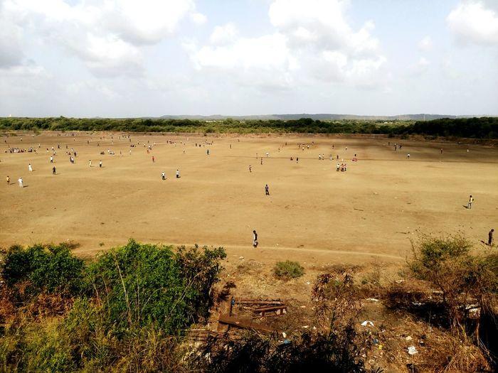 Rural scene from india