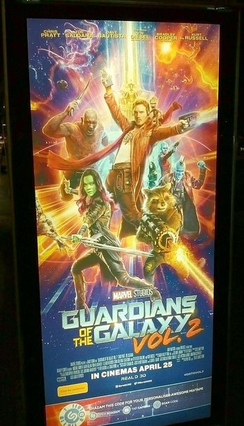 GuardiansofthegalaxyVol.2 CinemaPosters GUARDIANSOFTHEGALAXY Movieposters Guardians Of The Galaxy Poster Illuminated Signs Signs Signage Sign Signs_collection Signstalkers Posters SignHunters Movie Posters MOVIE Illuminatedsigns Movies Movieposter Movie Poster Poster Collection Signs & More Signs Signs, Signs, & More Signs Volume2 Vol.2 Vol2 Cinema Posters Western Script Text Signboard