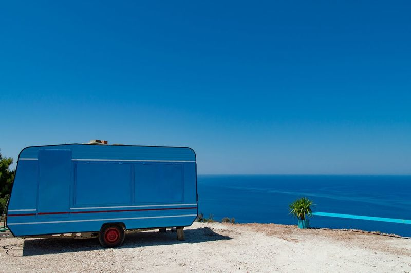Holiday Holiday POV Amazing View Landscape_Collection Caravan Eye4photography  Greece Blue Landscape Sea And Sky Landscapes With WhiteWall Blue Wave
