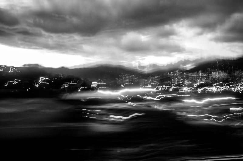 Medellín Abstract Absract Art Abstract Photography Cloud - Sky Sky Nature No People City Beauty In Nature Blurred Motion Motion Scenics - Nature Light Moving Lines Landscape