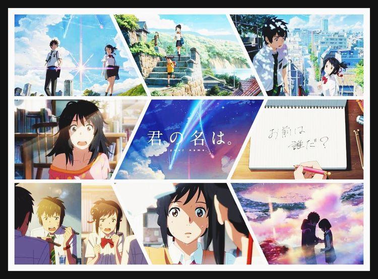 """""""君の名は。"""" your name. 君の名は Anime Japanese Anime Big Hit Anime Love Comedy Comedy Japan First Eyeem Photo EyeEm EyeEm Best Shots Eyeemphotography"""