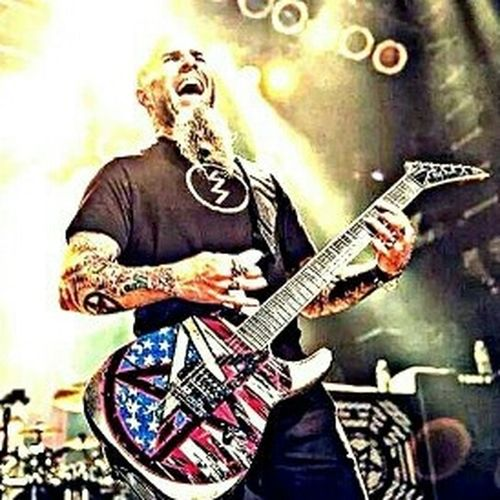 Scott Ian Anthrax Rock'n'Roll Heavymetal Concert Photography Edit Mystyle