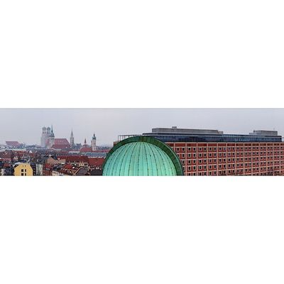 Panoramic View of the City . At the DeutchesMuseum Deutches museum. Taken by MY SonyAlpha dslr A57 . münchen Munich bayarn Bavaria Germany Deutschland. متحف بانوراما ميونخ المانيا بافاريا