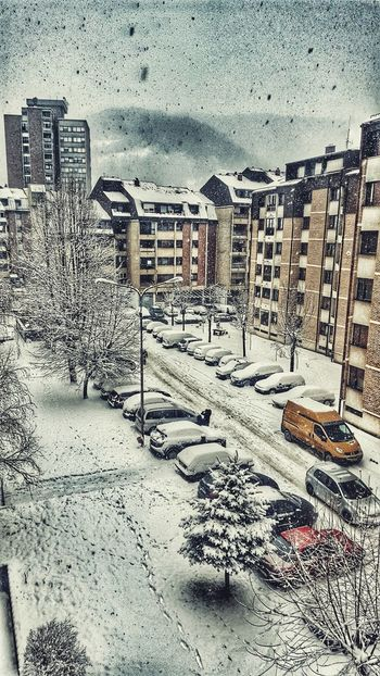 Priboj Serbia Srb Srbija Snow Winter Morning First Eyeem Photo