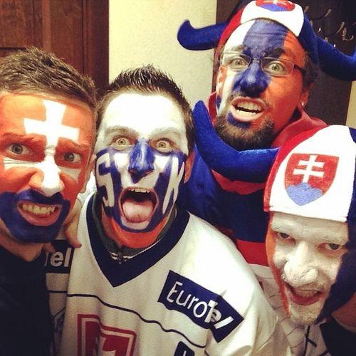 Dnes je to naše! Slovakia SUPPORT IIHF Iihfslovakia hockey minsk belarus