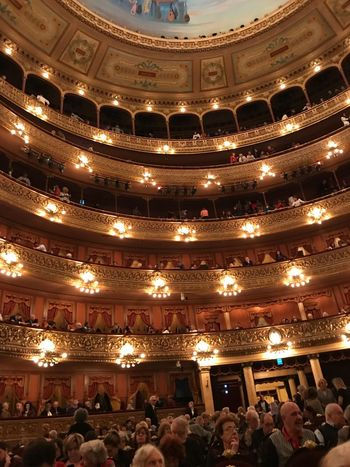 Palcos Teatro Colon Cellularphotography Colon Theater Teatro Colon  Gold Colored Buenos Aires Crowd Group Of People Large Group Of People Illuminated Lighting Equipment Real People Indoors