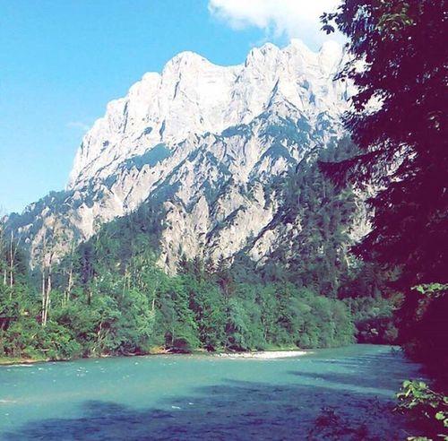 Austria Gesäuse Mountain View