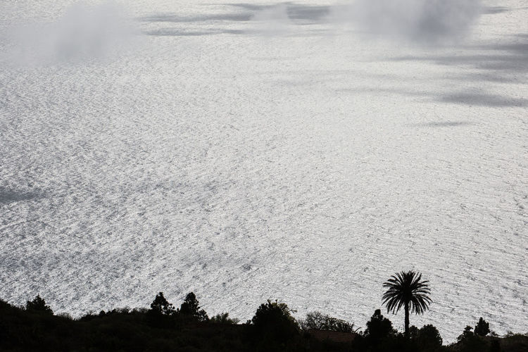 ocean view Tijarafe, La Palma Day High Angle View La Palma, Canarias Nature No People Ocean Outdoors Scenics Silhouette Sky Tijarafe Tranquility